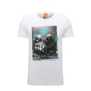Boss Orange Totally 1 T-Shirt in White