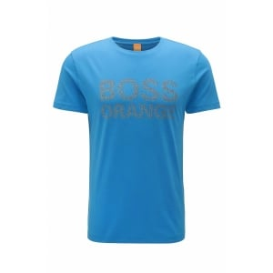Boss Orange Turbulence T-Shirt in Blue