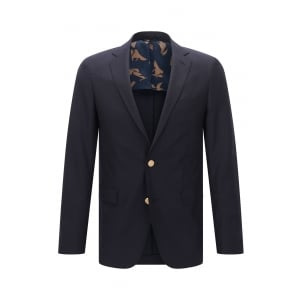 Boss Black Roan 1 Jacket in Navy