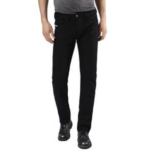 "Diesel Belther 32"" Regular Leg Jeans in Black"
