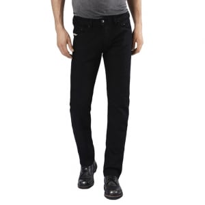 "Diesel Belther 30"" Short Leg Jeans in Black"
