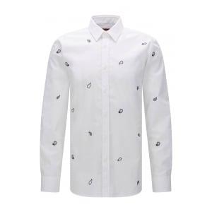 Hugo Elisha Shirt in White