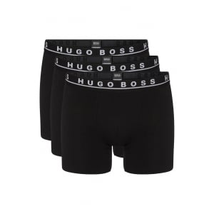 Boss Black Boxers Boxer Brief 3P in Black