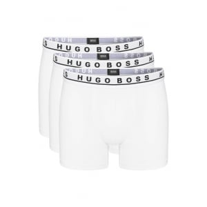 Boss Black Boxers Boxer Brief 3P in White