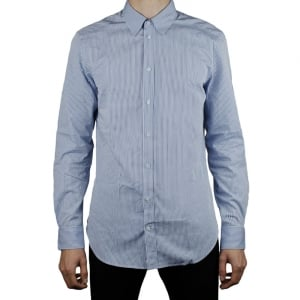 Collezioni Plain Formal Shirt in Baby Blue