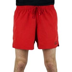 Ea7 Seaworld 3 Swim Shorts in Red