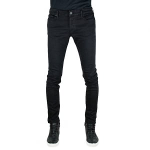 True Religion Tony No Flap Jeans in Black