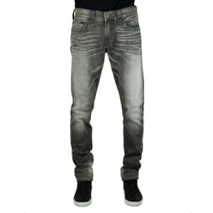 True Religion Rocco Stud Jeans in Charcoal