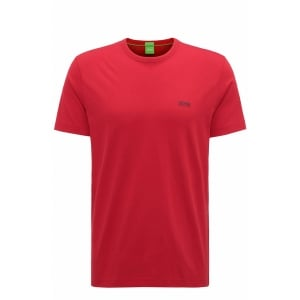 Boss Green Tee T-Shirt in Red