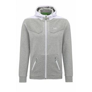 Boss Green Sivon Sweatshirt in Grey