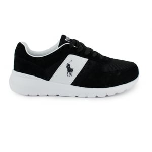 Ralph Lauren Polo Cordell Trainers in Black