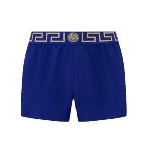 Versus Versace Beach Swim Shorts in Blue