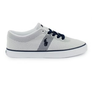 Ralph Lauren Polo Halford 11 Trainers in White and Navy