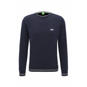 Boss Green Rime_W17 Knitwear in Navy