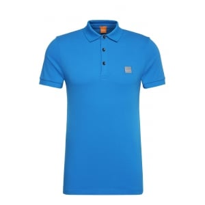 Boss Orange Pavlik Polo Shirt in Blue