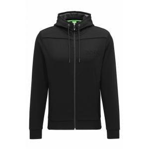 Boss Green Saggy Sweatshirt in Black