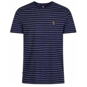 Luke Kids Ex Mark Crew Neck T-Shirt in Navy