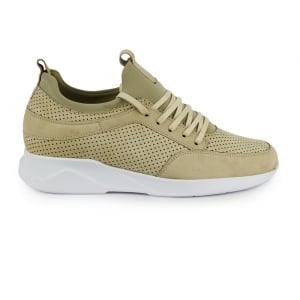 Mallet Archway Trainers in Cream