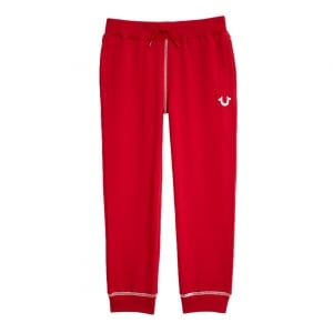 True Religion Kids Jogging Bottoms in Red