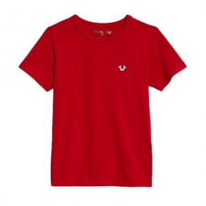 True Kids T-shirts Logo Tee in Red