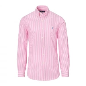 Ralph Lauren Polo Long Sleeve Shirt Lined in Pink