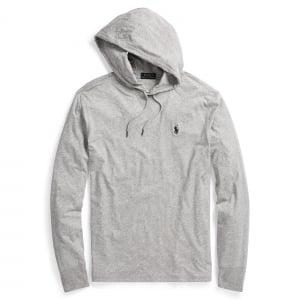 Ralph Lauren Polo Lounge Hooded Sweatshirt in Grey