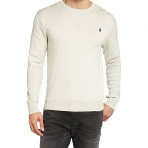 Ralph Lauren Polo Navy Horse Knitwear in Grey