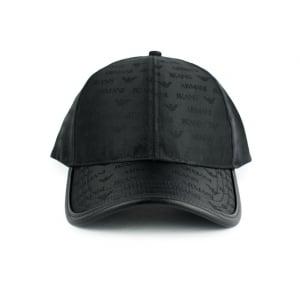 Armani Jeans Armani Logo Cap in Black