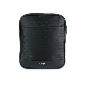 Armani Jeans Bags Logo Man Bag in Black