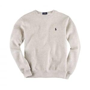 Ralph Lauren Polo Long Sleeve Slim Sweatshirt in Grey