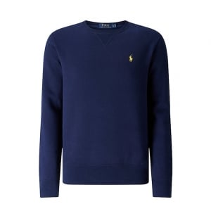 Ralph Lauren Polo Yellow Horse Sweatshirt in Navy