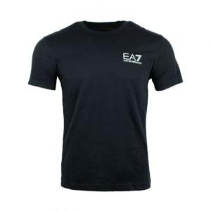 Ea7 Core Tee T-Shirt in Black