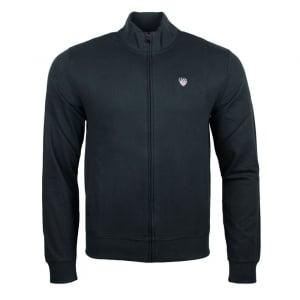 Ea7 Soccer Logo Sweatshirt in Black