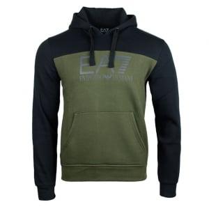 Ea7 Forrest Sweatshirt in Khaki