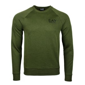 Ea7 Core Sweatshirt in Khaki