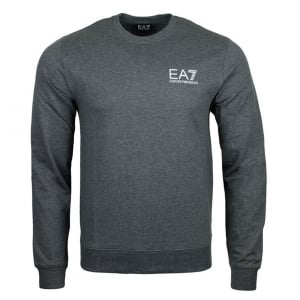 Ea7 Core Sweatshirt in Dark Grey