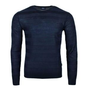 Armani Jeans Lined Knitwear in Navy