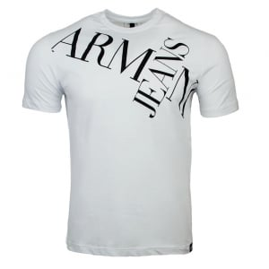 Armani Jeans T-shirts AJ Jeans Tee in White