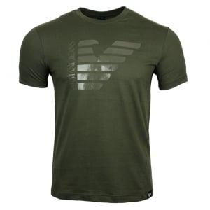 Armani Jeans AJ Eagle T-Shirt in Khaki