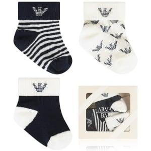 Armani Junior Socks Sock Care in Navy