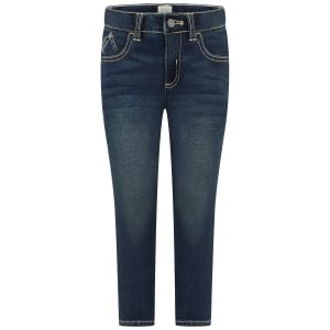 Armani Junior J15 Eagle Jeans in Dark Wash