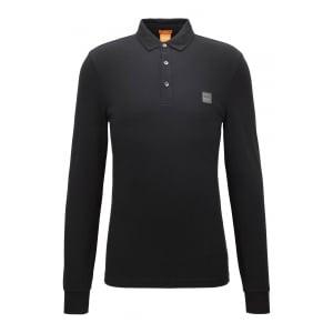 Boss Orange Paulyn Polo Shirt in Black