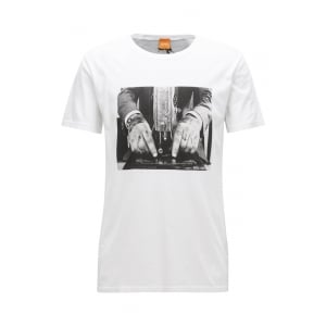 Boss Orange Taboo 3 T-Shirt in White