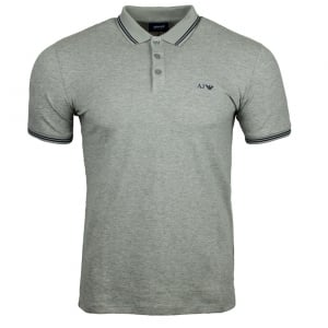 Armani Jeans Core Polo Shirt in Grey