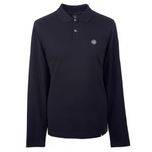 Pretty Green Hartford Polo Shirt in Black