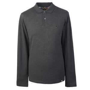 Pretty Green Hartford Polo Shirt in Dark Grey