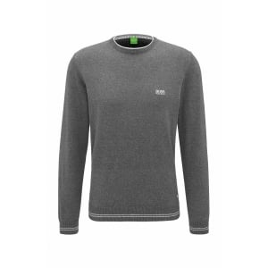 Boss Green Rimes_W17 Knitwear in Charcoal