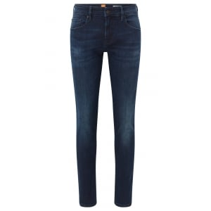 "Boss Orange Orange72 32"" Regular Leg Jeans in Dark Wash"