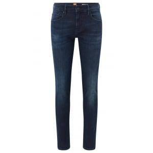 "Boss Orange Orange72 34"" Long Leg Jeans in Dark Wash"
