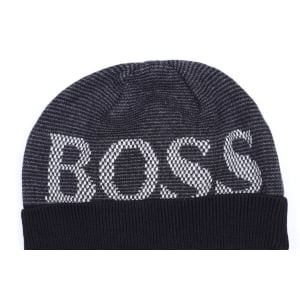 Boss Kids Hats Wool Hat in Black